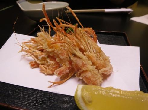 Freshwater shrimp.