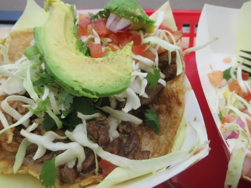 Oscar's surf and turf taco.