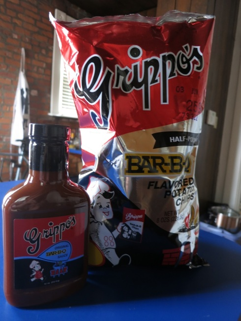 Grippo's AND Grippo's BBQ sauce!?  A match made in heaven?