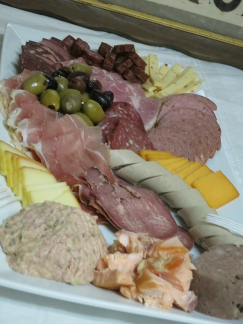Just a small sampling of the meats available at Thurn's.